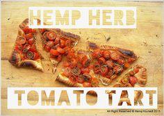 Hemp Yourself | HEMP herbed Tomato tart