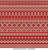 ... Knitted Pattern in traditional Fair Isle style   Vector   Colourbox