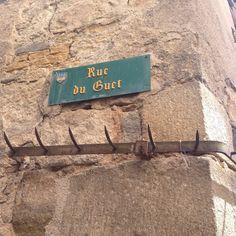 Les plaques de Billom, Auvergne, Puy de dôme, France.