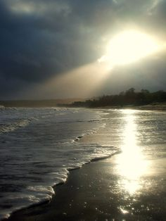 taken after a run along the beach in Swansea Bay...just before a big storm