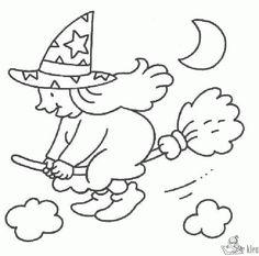 5288-heks-kleurplaat.gif (595×588) Theme Halloween, Halloween Rocks, Pretty Halloween, Halloween Crafts For Kids, Fall Halloween, Happy Halloween, Halloween Decorations, Halloween Coloring Pictures, Free Halloween Coloring Pages