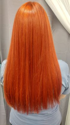 Bright Red Hair, Hair Color For Black Hair, Love Hair, Summer Hairstyles, Cool Hairstyles, Long Red Hair, Red Hair Don't Care, Coloured Hair, Ginger Hair