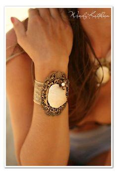 OYSTER BAY Beach Wedding Bridal Shell by AngelfishOriginals, $128.00