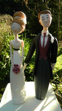 Bride Amp Groom Fondant Figurine A Carlos Lischetti Design