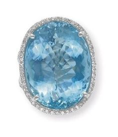 Aquamarine and Diamond Ring, Tiffany & Co.