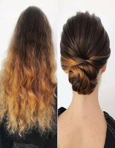Amazing Hairs Transformation Beautiful Look Ponytail