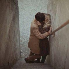 Stair kiss