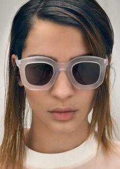Women's Sunglasses : Matte and fat at Cheap Monday Clubmaster Sunglasses, Cheap Ray Ban Sunglasses, Sunglasses Women, Oakley Sunglasses, Cool Glasses, Ray Ban Glasses, Fashion Eye Glasses, Glasses Online, Daily Fashion