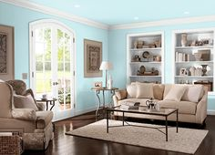 This is the project I created on Behr.com. I used these colors: SILENT BREEZE(P470-1),