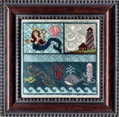 Erica Michaels Needleart Designs - Seaside Squared