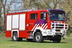 Een 4x4 MAN 18.334BLF TGM van het korps Hellendoorn, bouwjaar 2009. Fotograaf @hvvoertuigen