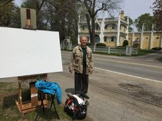 Owner. James Hunt Barker. Maine Artist paints Wedding Cake House. Kennebunkport, MaineErin McGee Ferrell. American Artist