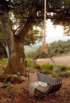 Playful Garden Furniture, Swings Adding Fun to Backyard Landscaping
