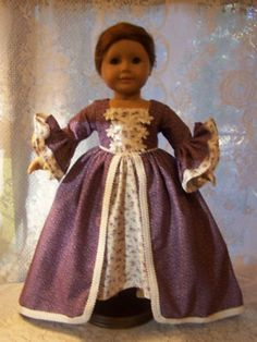 AMERICAN GIRL DOLL CLOTHES VICTORIAN DRESS for Felicity Elizabeth Mia Jess (01/07/2012)