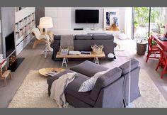 Un salón dividido en varias zonas - Soluciones - DecoEstilo.com