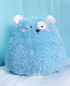 ♥+Blue+Stuffed+Bear,+Bear+Softie,+Bear+Decor,+Plush+Bear,+Children+Toy+Bear,+Toddler+Toy+Bear+-+Brown+Bear  ♥+Blue+Bear+is+very+lovely+&+friendly.+He+is+a+happy+home+decor+stuffed+bear+who+sits+upright+on+his+own.+A+great+display+for+your+home+or+kids+room.  ♥+Made+from+soft+minky+fabric -+B...