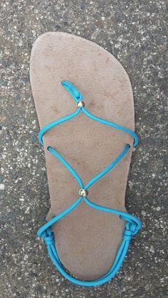 SKLADEM Huarache sandále dmkámské / Zboží prodejce Katies World Diy Barefoot Sandals, Socks And Sandals, Bare Foot Sandals, Huaraches, Types Of Shoes, Designer Shoes, Flip Flops, Creations, Footwear
