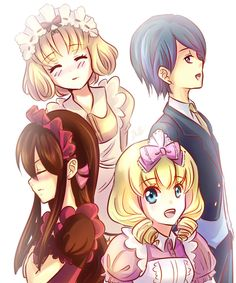 yumeiro patissiere spirits as humans | The day was long and you couldnt help but sigh, nothing new and ...