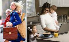 Ser mãe e trabalhar. Há soluções.
