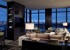 I would love to live in NYC and have a condo with tonnes of windows overlooking central park.