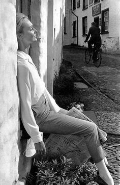 Fashion photo by Frank Horvat