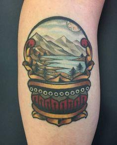 Healed #tattoo by Aaron Ashworth