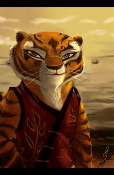 Master Tigress Speedpaint by melonshock.deviantart.com on @deviantART