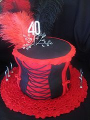 BURLESQUE CAKE IDEAS | Burlesque Corset Cake Cake Ideas and Designs
