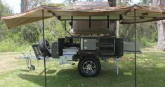 Expendition off road camper trailer Used Camper Trailers, Bug Out Trailer, Camper Trailer For Sale, Off Road Trailer, Camping Trailers, Cheap Campers, Cool Campers, Top Tents, Roof Top Tent