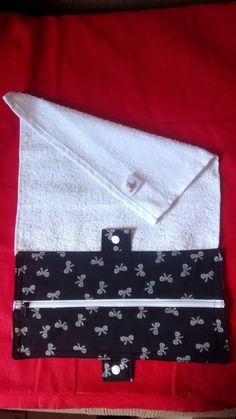 toalha necessaire porta higiene