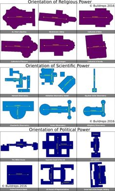 This illustration shows how much contemporary buildings of power are actually…