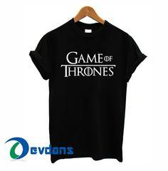 game of thrones logo T-shirt men, women adult unisex size S to 3XL