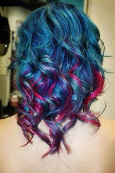 Colored hair☮