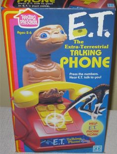 E.T. Talking #Phone  Help E.T. Phone Home! Press the numbers! Hear E.T. talk to you!