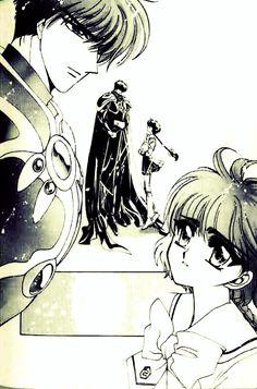 Magic knight rayearth hikaru and lantis , love the pairing <3