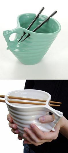 """Ramen Bowl - NEED"" Sooo cool!!! Perfect for pho!"