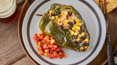 Southwest Pepper Jack-Stuffed Poblano Packets | Wisconsin Cheese