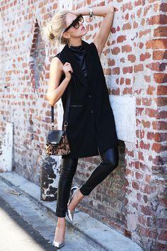 Savvy in black.