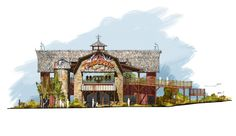 Thunderbird, Holidayworld, Artworks for the 2014 Launched Coaster.