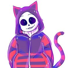 if sans could hug me rn that would be gr8 | kitty sans