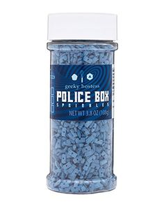 Police Box Sprinkles The Geeky Hostess http://www.amazon.com/dp/B00VQSVI92/ref=cm_sw_r_pi_dp_ibQYvb1QG2MN8