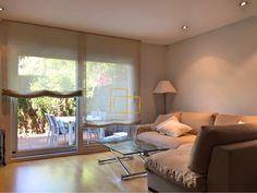 Salón con cortinas pachetto de tejido Natural. #solart #decoracion #diseño #hogar #estores #cortinas