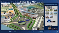 smartcity #Montpellier - la future avenue de la Mer