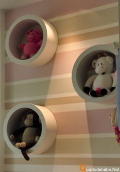 Any ideas on how to make these circular pieces or where to get them? Baby Bedroom, Baby Room Decor, Girls Bedroom, Decoration, Baby Kids, Kids Room, Sweet Home, Nursery, Children