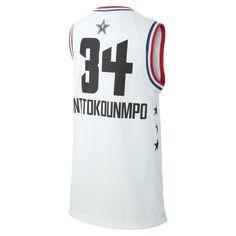 ccea66715 All-Star Older Kids  Jordan NBA Jersey - White