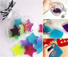 diy soap for childrens party gift