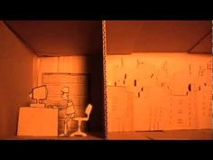 paper cut stop motion animation - YouTube