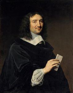 Jean-Baptiste Colbert – by Philippe de Champaigne (1602-1674) – c.1655.