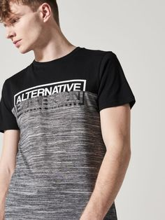 Alternative Expression t-shirt, HOUSE, QI207-90M