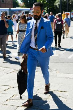 Dress Suits, Dress Up, Blue Costumes, Mens Fashion, Fashion Outfits, Suit And Tie, Dapper, Gentleman, Classy